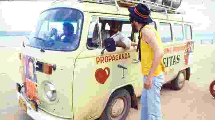 Dono da boate em que Raul tocou no Pará saiu pelas ruas numa Kombi para anunciar o show - Cris Villares/Divulgação