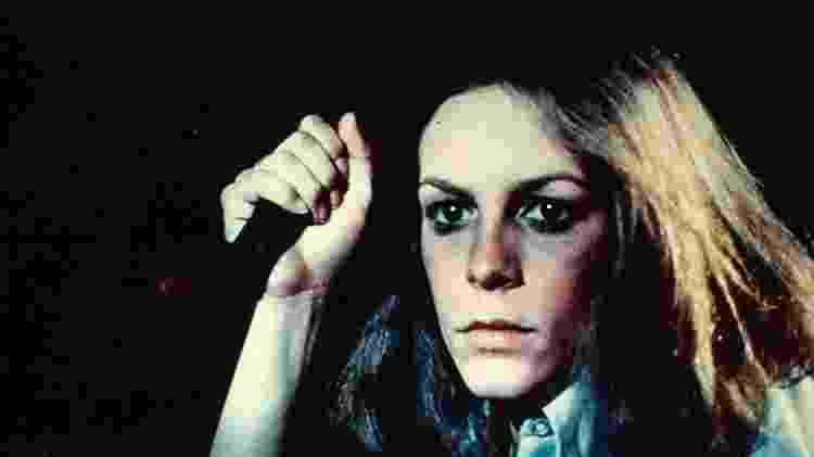 """Jamie Lee Curtis em """"Haloween"""" (1978) - Reprodução"""