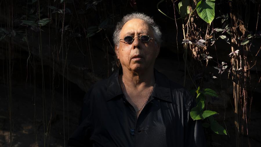 Jards Macalé no ensaio do álbum Besta Fera - Leo Aversa/Divulgação