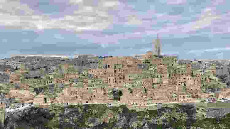 Vista da cidade de Matera, no sul da Itália, capital da cultura da Europa em 2019 - Lucas Ferraz/UOL