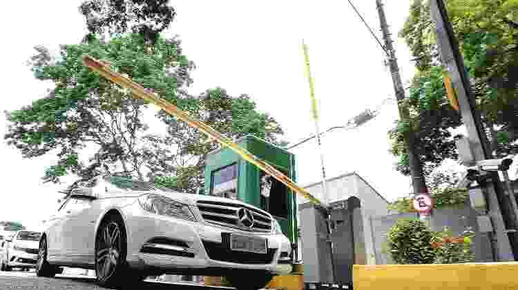 Moradores instalam cancela em bairro da zona Sul de São Paulo - Rivaldo Gomes/Folhapress - Rivaldo Gomes/Folhapress