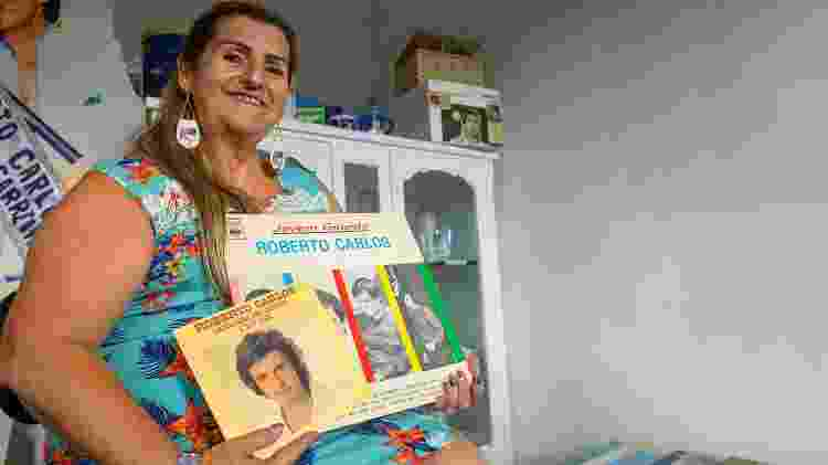 A família de Rosemeire Barbosa sempre foi fã da Jovem Guarda - Flavio Moraes/UOL - Flavio Moraes/UOL