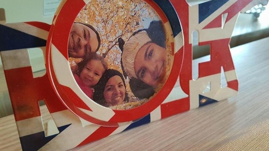 Karlo Schneider e a família - Facebook/Reprodução