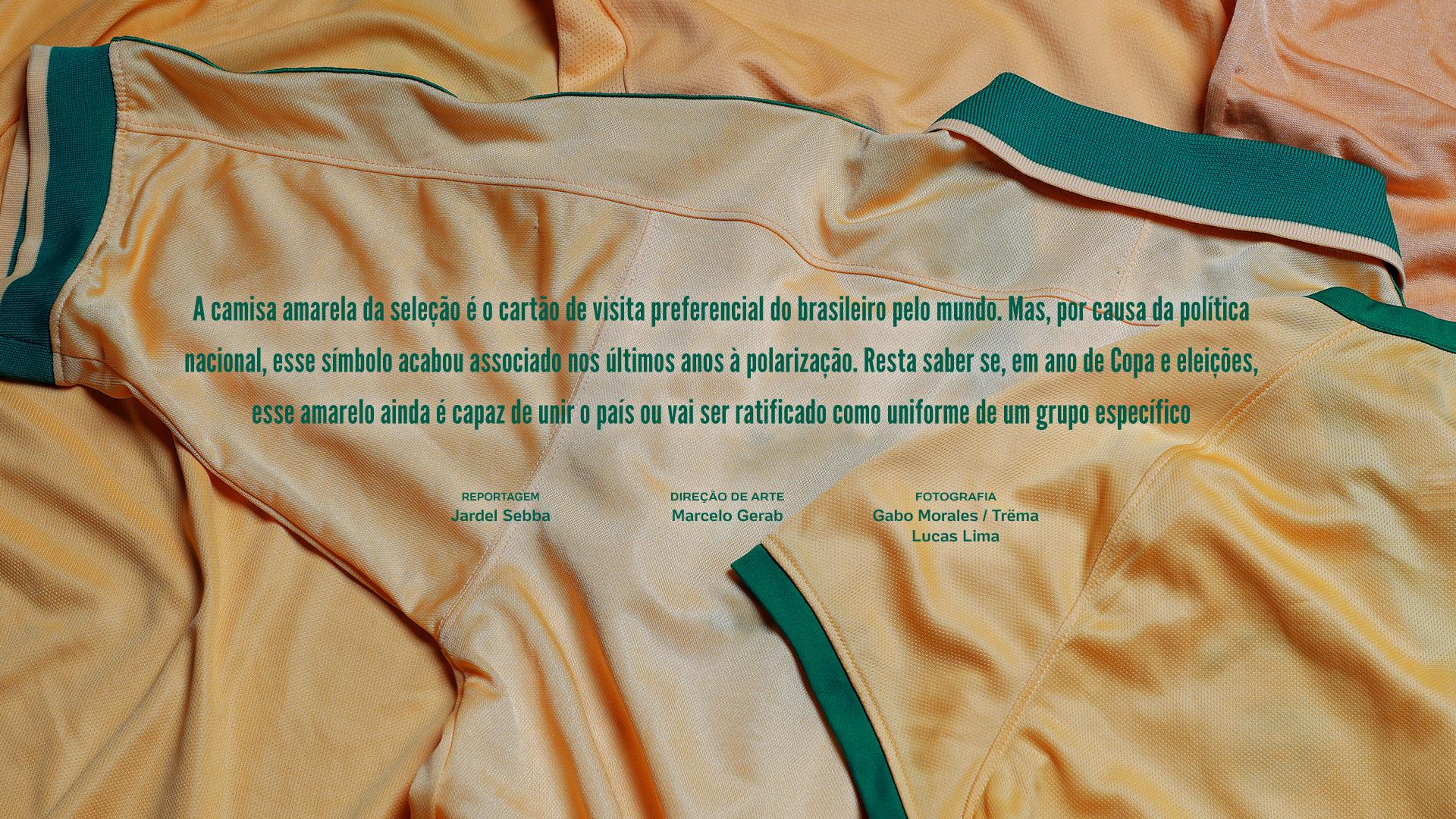 6f299c8579f60 A camisa amarela da seleção brasileira virou há décadas símbolo e até um  passaporte informal do Brasil pelo mundo. Mas nos últimos anos ela ajudou a  dividir ...