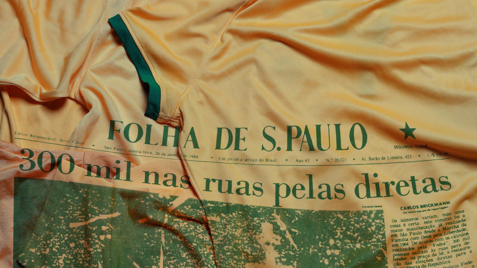 587c891ca1 As pessoas vestiam a camisa do Brasil (roupas com motivos do país