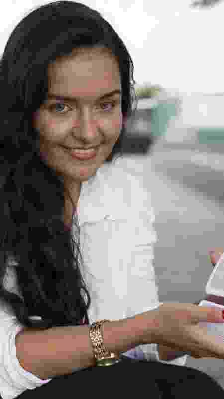 Taróloga Nayara Moura, 25, viralizou na internet depois de um vídeo sobre sua trajetória como estudante em Oxford - Gabriela Cais Burdmann/UOL - Gabriela Cais Burdmann/UOL