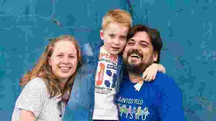 Os pais de Miguel entraram na Justiça para que ele pudesse refazer ano escolar - Arquivo pessoal - Arquivo pessoal
