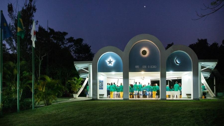 Templo do Núcleo Rei Salomão do Centro Espírita Beneficente União do Vegetal - Samuel Macedo/Divulgação