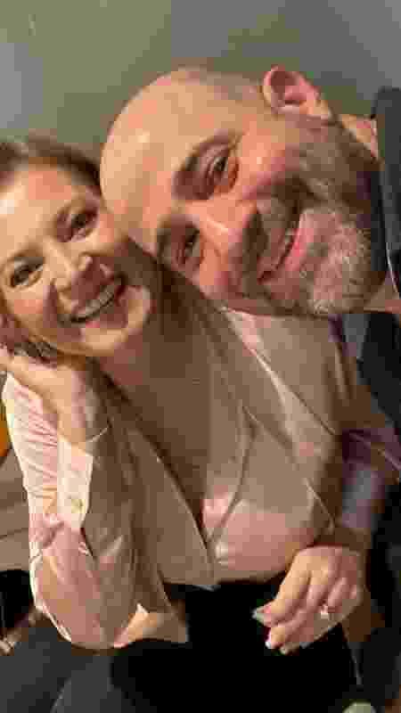 O estrategista de campanha Daniel Braga e Joice Hasselmann - Arquivo pessoal - Arquivo pessoal