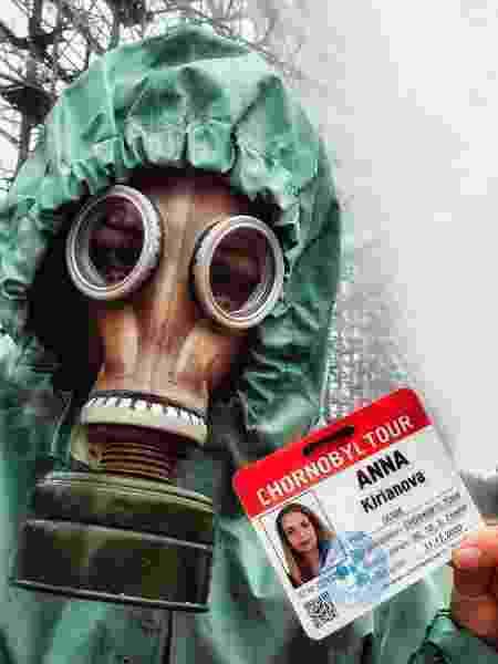 Anna Mirtu é guia de passeios em inglês e espanhol pela Zona de Exclusão de Chernobyl - Anna Mirtu/Arquivo Pessoal