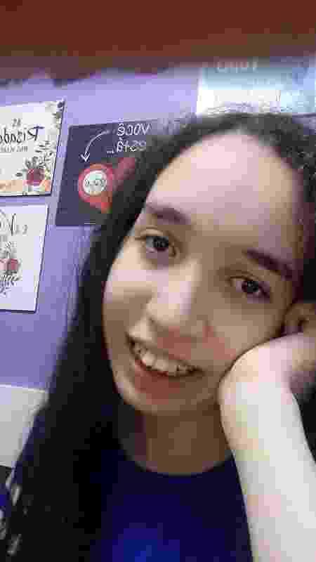 Juliana gosta de escrever e tem facilidade com idiomas - Arquivo pessoal - Arquivo pessoal