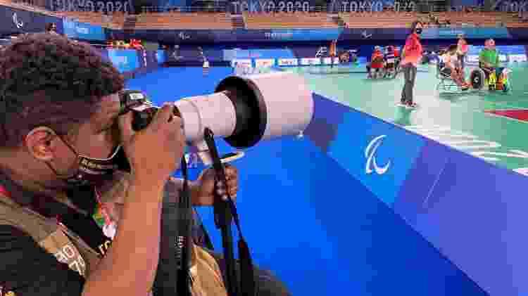 João Maia em ação nas Paralimpíadas do Japão - Sandra Mi/Divulgação - Sandra Mi/Divulgação