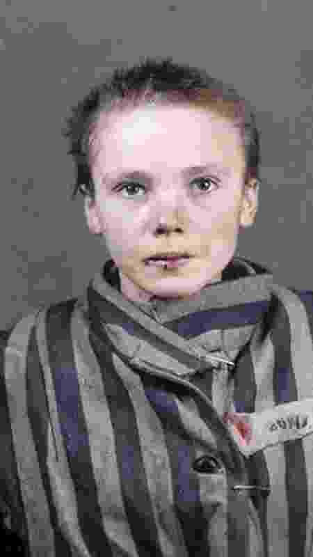 Czeslawa Kwoka foi executada com uma injeção letal no campo de concentração de Auschwitz em 1943 - Divulgação/Faces of Auschwitz