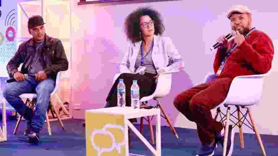 """Palestra """"Como o cinema negro vem se desenhando no Brasil?"""" no Festival Path - Iwi Onodera/UOL"""