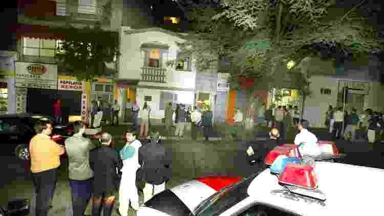 Briga entre membros da TFP virou caso de polícia; em 2004, a justiça garantiu aos dissidentes a direção da entidade - Jorge Araujo/Folhapress - Jorge Araujo/Folhapress
