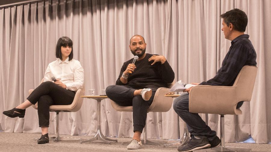 Lídia Zuin, Michel Alcoforado e Rodrigo Bertolotto - Lucas Baptista/ UOL