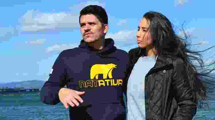 Ulisses e a esposa Janaína Utida - Rodrigo Sicuro/UOL - Rodrigo Sicuro/UOL