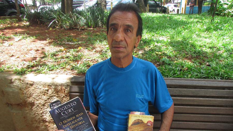 Recém-curado de uma pneumonia, Cosme Santos Silva é uma das milhares pessoas do grupo de risco vivendo nas ruas - Henrique Santiago