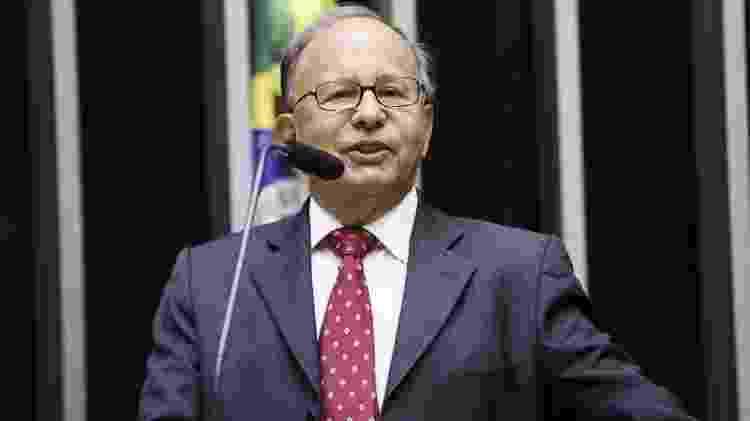 O diretor da Federação Espírita do Brasil (FEB), João Rabelo, em homenagem na Câmara dos Deputados. - Luis Macedo/Câmara dos Deputados - Luis Macedo/Câmara dos Deputados