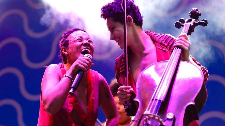 Mulamba em show no Festival Path 2019 - Mariana Pekin/UOL
