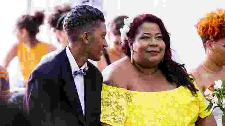 Quarenta casais homoafetivos participam do casamento coletivo organizado pela ONG Casa 1, no último sábado (15), em São Paulo - Mariana Pekin/UOL - Mariana Pekin/UOL