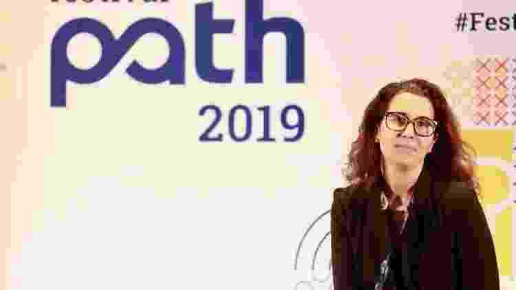 """A médica Andressa Gulin participou da palestra """"Novos paradigmas da saúde"""" no Festival Path - Iwi Onodera/UOL"""