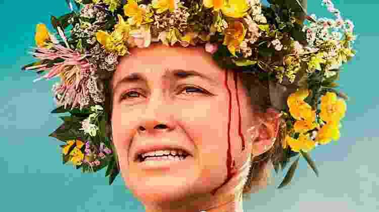 Cena do filme Midsommar, que mostra uma seita sangrenta na Escandinávia - Divulgação