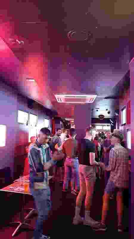 Boate G-A-Y, no bairro de Soho, em Londres, na noite de segunda-feira (19), dia da reabertura total - João Pedro Caleiro/UOL - João Pedro Caleiro/UOL