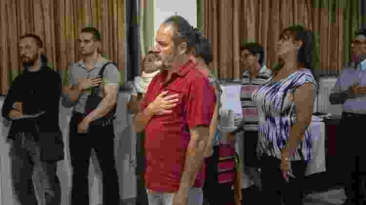 Fiéis participam de cerimônia dos Helênicos Étnicos, em Atenas - Andre Naddeo/UOL - Andre Naddeo/UOL