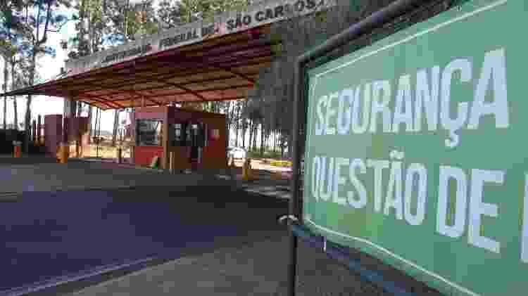 Implantação de controle de acesso a UFSCar (Universidade Federal de São Carlos) - Edson Silva/Folhapress - Edson Silva/Folhapress