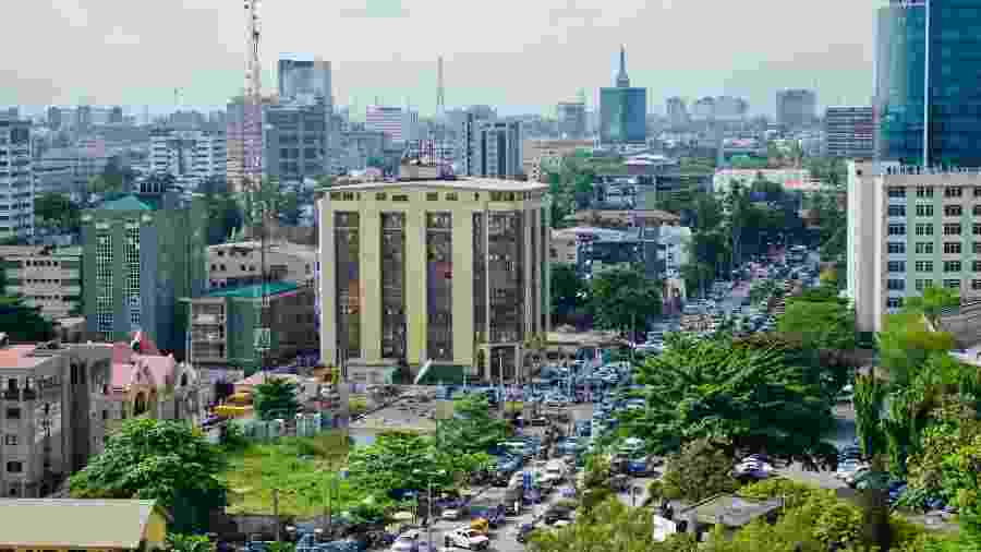 Cidade de Lagos, na Nigéria - Getty Images/iStockphoto