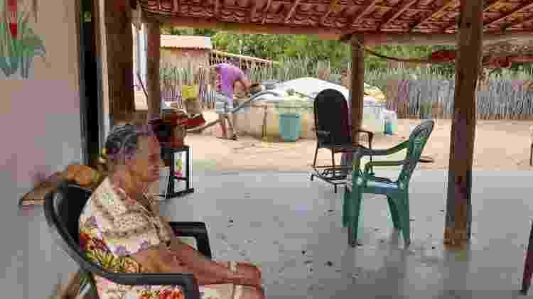 No assentamento criado em 1997, há 300 famílias; na maioria das casas há idosos - Acervo pessoal - Acervo pessoal