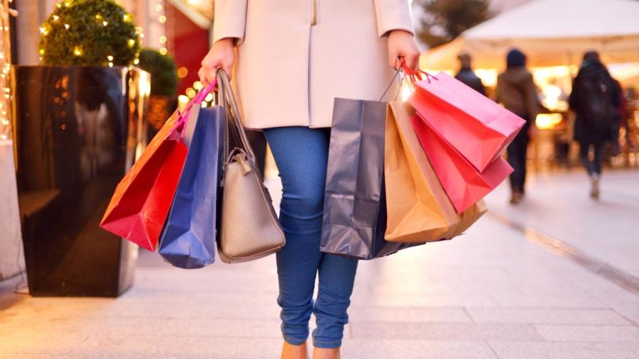 Em 2020 e parte de 2021, as vendas em shoppings de luxo aumentaram no País - Getty Images
