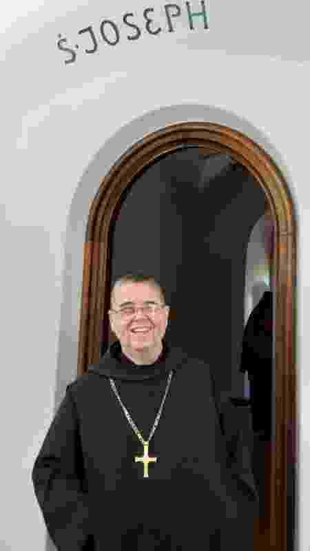Dom José Palmeiro Mendes, que vive no Mosteiro São Bento (RJ) - Arquivo pessoal