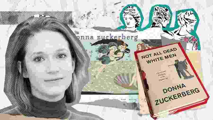 Donna Zuckenberg e seu livro a apropriação de mitos antigos pela direita machista dos EUA - Arte/UOL