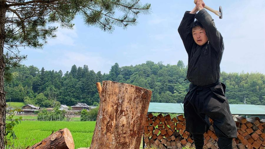 Genichi Mitsuhashi, o primeiro mestre em estudos de ninja do século 21 - AFP/Arquivo pessoal