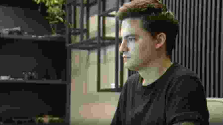 Felipe Neto, em entrevista para o Jornal Nacional nesta quinta-feira (30) - Reprodução/TV Globo