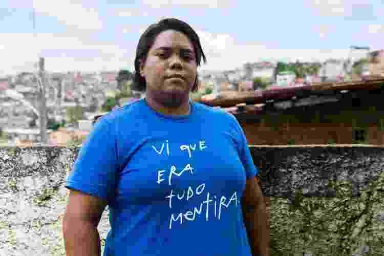 Mirtes Renata, mãe de Miguel, estudante de direito em Recife - Clara Gouvêa/UOL - Clara Gouvêa/UOL