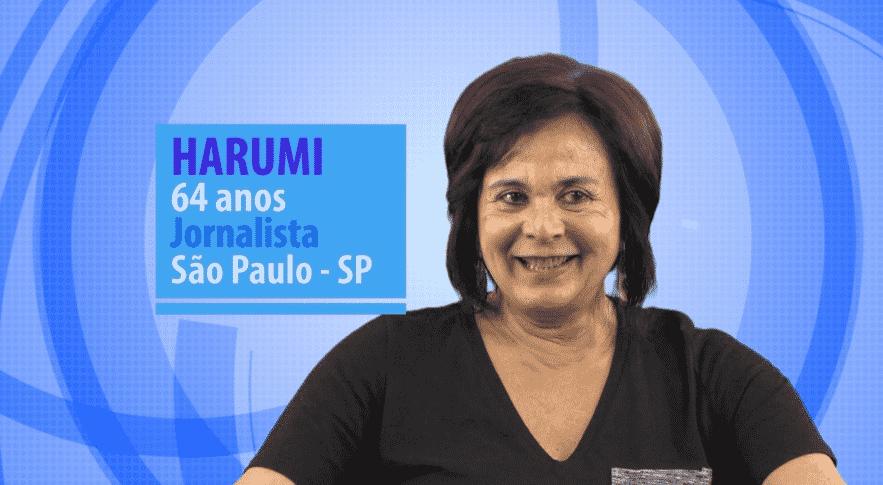 """Harumi Ishihara do """"BBB16"""" é a participante mais velha de todas as edições do programa - Divulgação/TV Globo"""