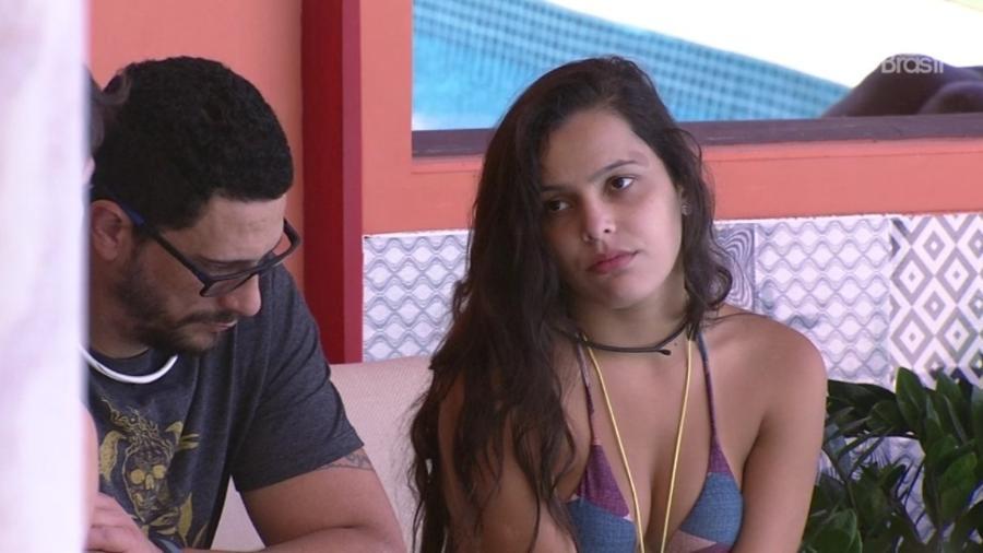 """08.02.2017 - Emilly, participante do """"BBB17"""" - Reprodução/Tv Globo"""