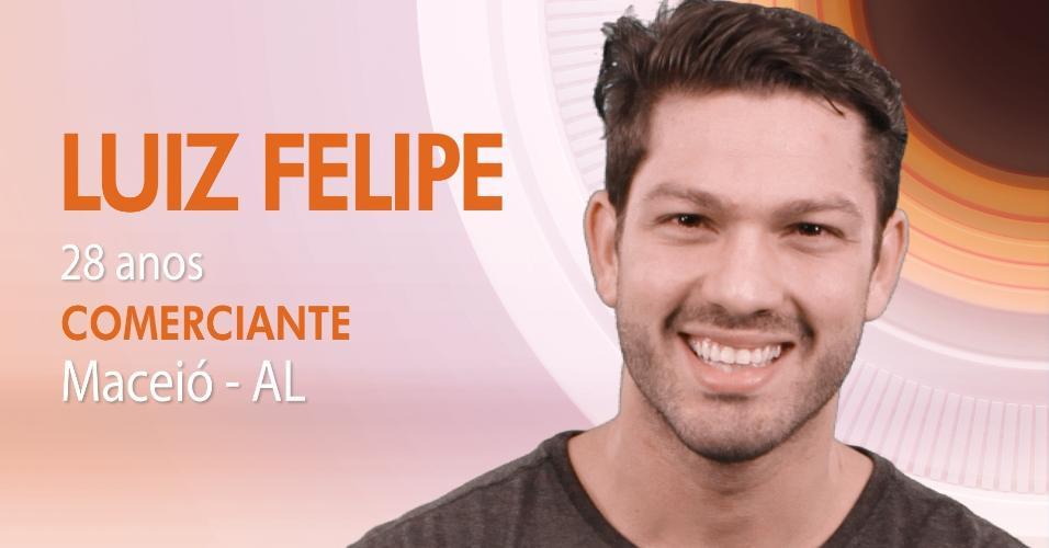 """Luiz Felipe  é um dos participantes do """"BBB17"""""""