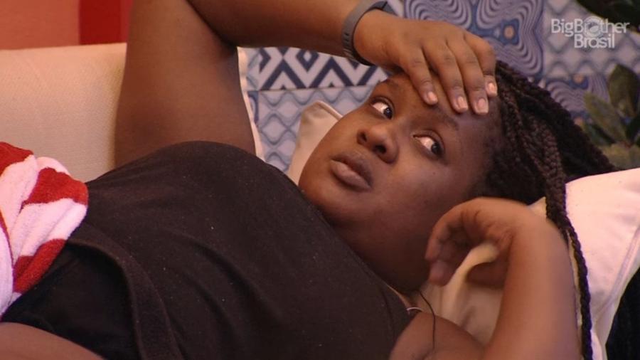 Roberta diz que Emilly tem direito de se sentir mal - Reprodução/TV Globo