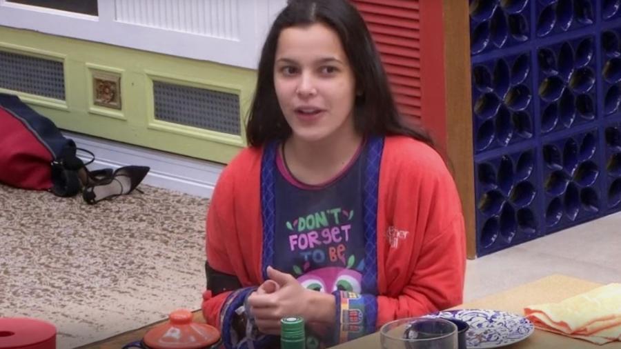 """Emilly: """"Eu e a Mayla, a gente já era estrelinha em El Dourado"""" - Reprodução/TVGlobo"""