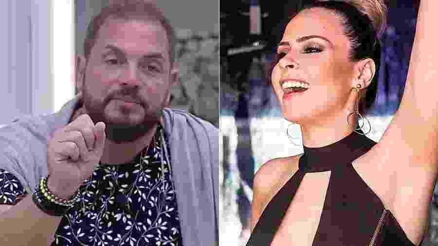 """Conrado xingou chamou Ana Paula Renault em """"A Fazenda 9"""" - Montagem/UOL"""