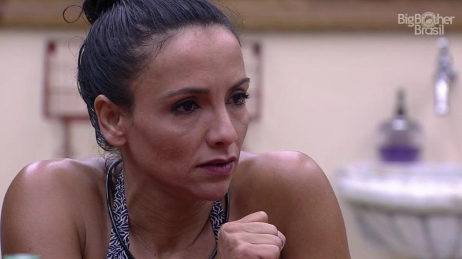 Marinalva diz ter sentido medo de ser agredida por Marcos - Reprodução/ TV Globo