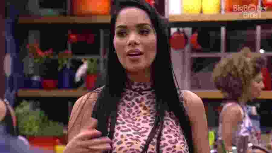 """28.jan.2017 - Mayara, participante do """"BBB17"""" - Reprodução/Tv Globo"""