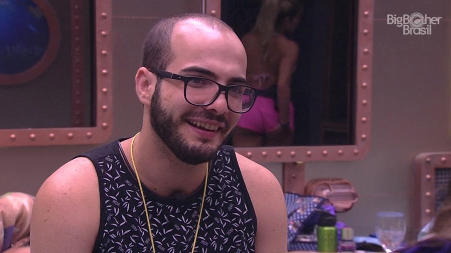 Mahmoud fala sobre temas que deseja falar dentro da casa  - Reprodução/GloboPlay