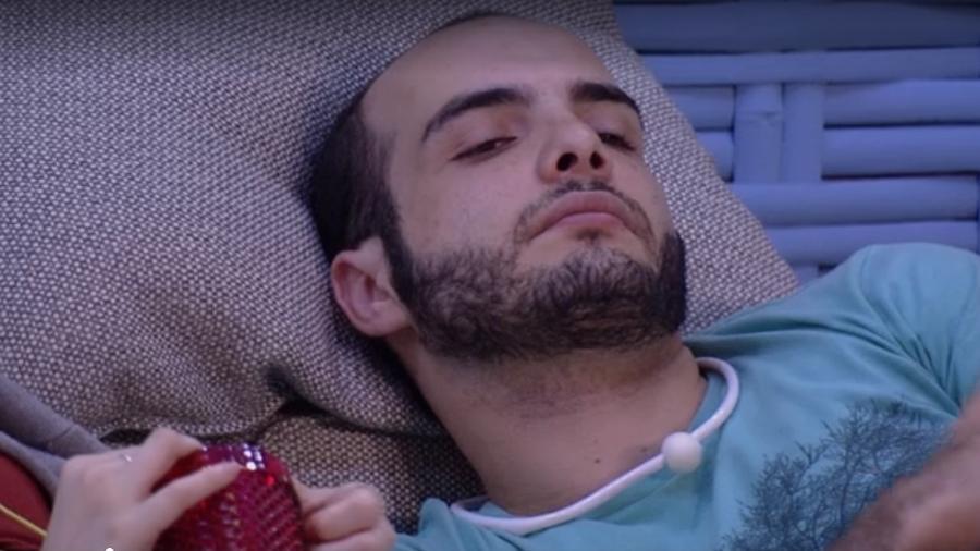 Mahmoud especula sobre paredão com Ana Clara  - Reprodução/Tv Globo