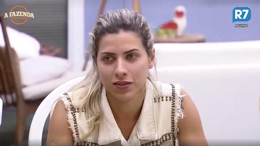 """Ana Paula Minerato fala de trabalho com Marcos em """"A Fazenda 9"""" - Reprodução/R7"""