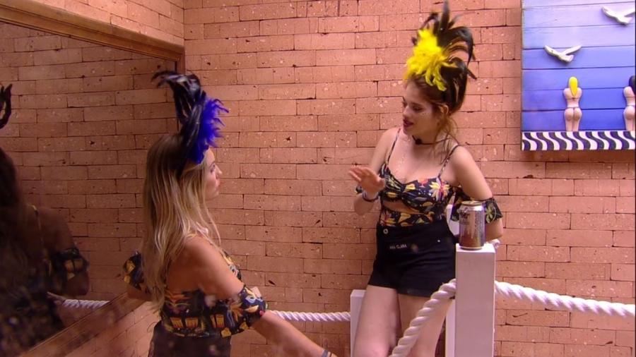 Jéssica desabafa com Ana Clara - Reprodução/Gshow